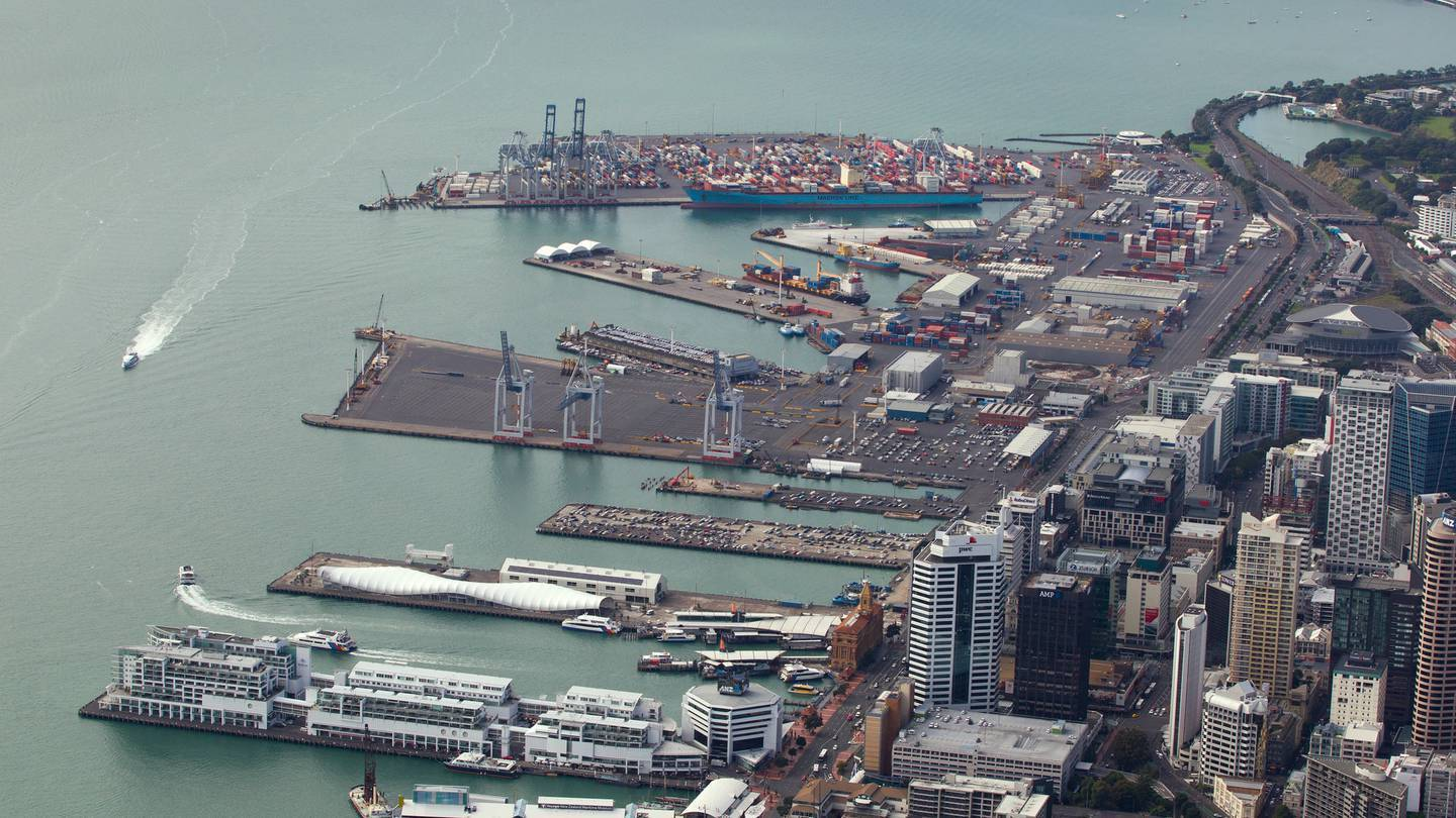 International crews arriving at the Ports of Auckland and Tauranga must now complete 14 days in managed isolation. Photo / File