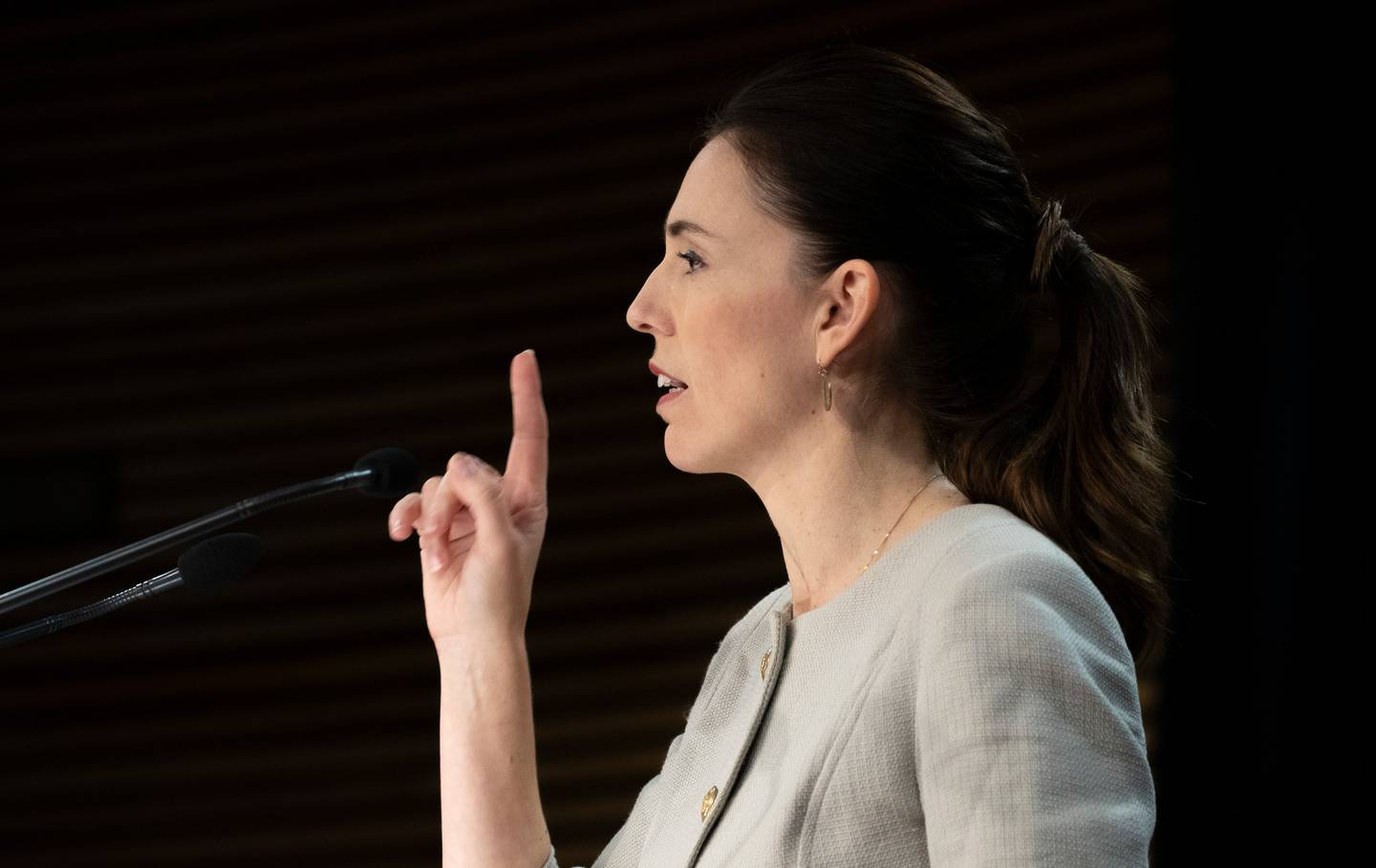 Prime Minister Jacinda Ardern. Photo / Mark Mitchell
