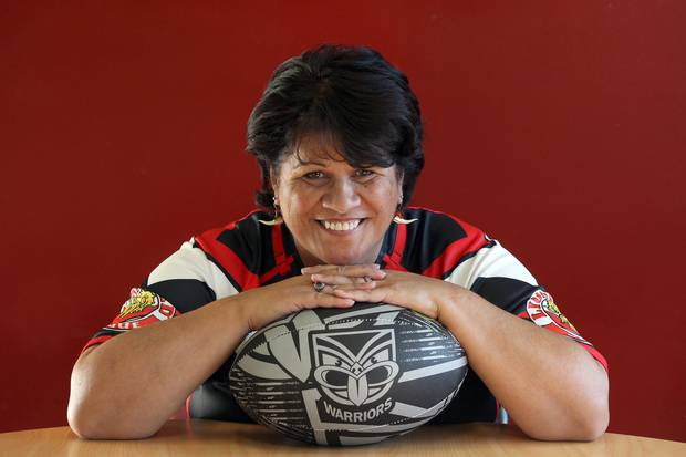 Grant was the first woman to be appointed to the board of the Warriors rugby league club in 2012. Photo / File