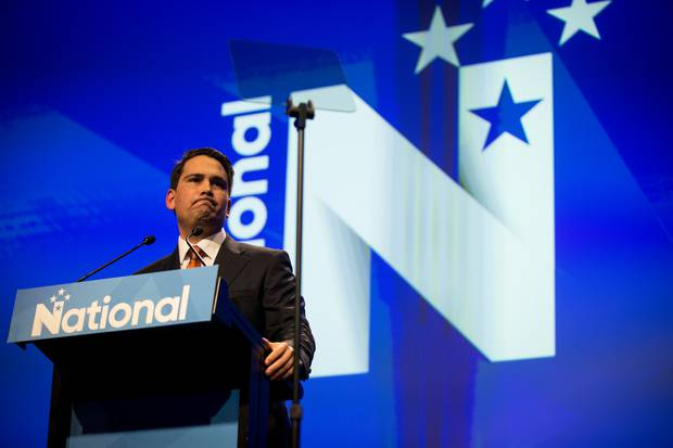 Simon Bridges faces a big battle in trying to get himself and his party to win the next election. Photo / Dean Purcell