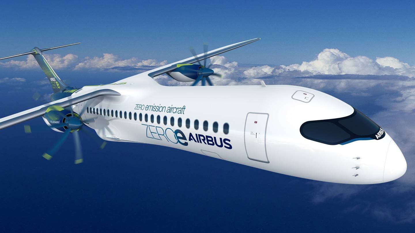 Air New Zealand hopes hydrogen hybrid passenger planes will be on regional routes.  Image / Supplied