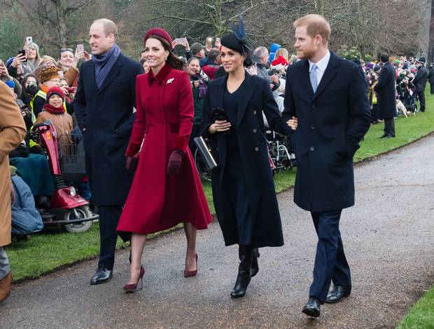Prince William, Catherine, Meghan, and Prince Harry, have been a tight unit known as the Fab Four. Photo / AP