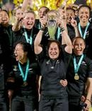 Fiao'o Fa'amausili's Black Ferns swept the New Zealand Rugby awards. Photo / Photosport