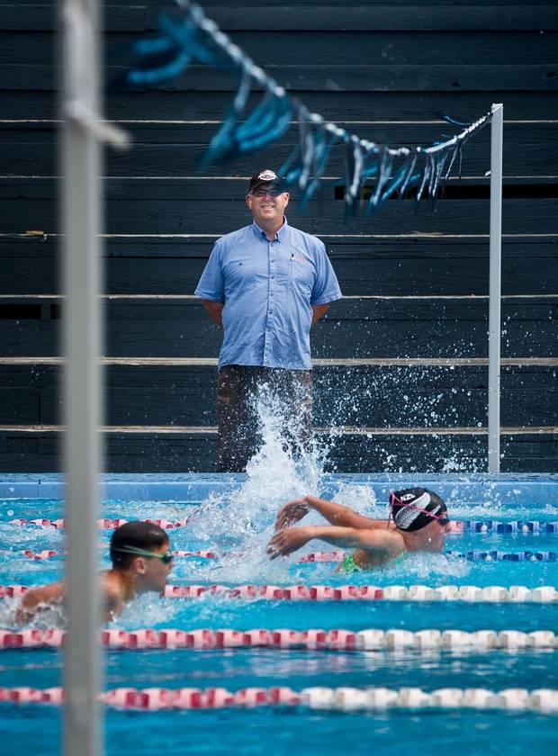 Alastair Johnson oversaw a raft of successes as Swim Rotorua head coach. Photo / File
