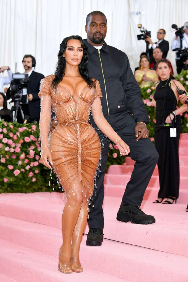 Kim Kardashian West and Kanye West attend The 2019 Met Gala. Photo / Getty Images