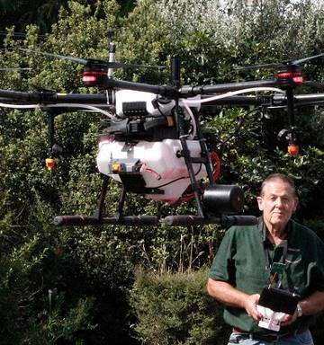 New agricultural spraying business Agdrone takes off in Whanganui