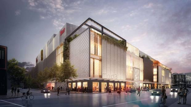 Westfield Newmarket's $790 million mall's leasing stage is currently underway, with Scentre saying this year it would begin shop openings from this month until December.