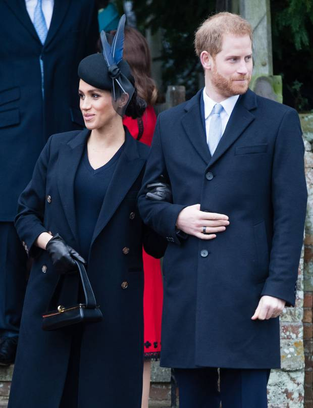 Meghan and Harry stayed with the Queen at Sandringham this year with up to 30 other guests. Photo / Getty