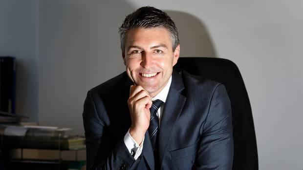 Former Spark no. 2 Jason Paris, who will take over as Vodafone NZ chief executive on November 2. Photo / Sarah Ivey.