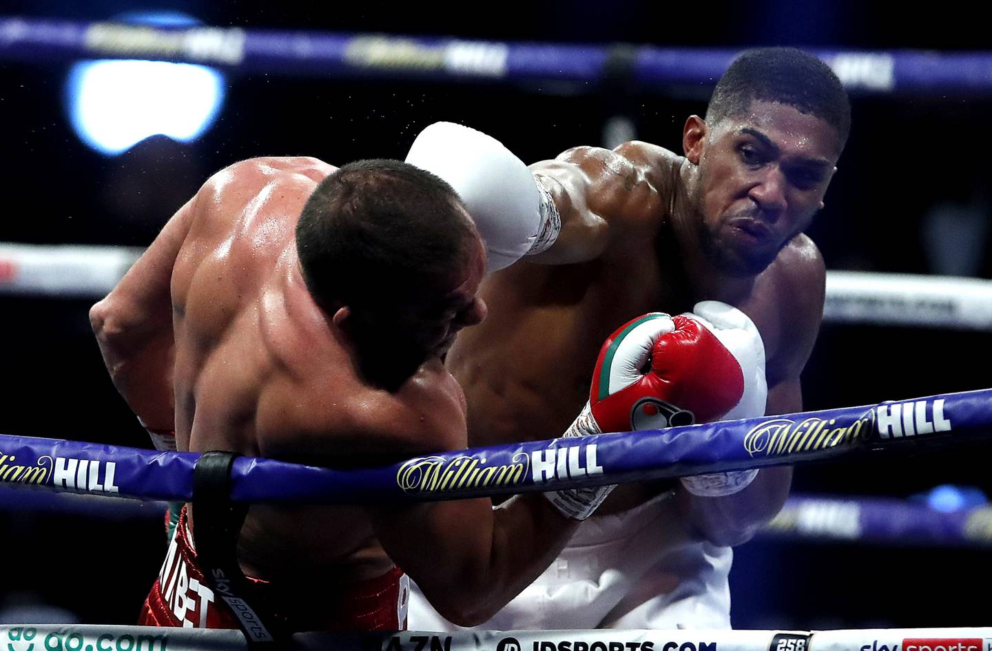 Anthony Joshua's most recent bout was a knockout win over Kubrat Pulev in December last year. Photo / Getty Images