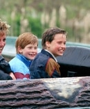 Young Princes' William and Harry with their mother, Princess Diana. Photo / Getty Images