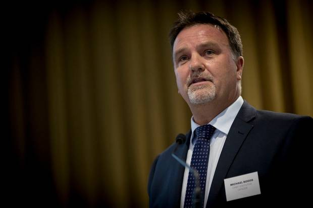NZME CEO Michael Boggs. Photo / Dean Purcell