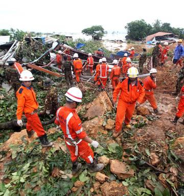 Landslide death toll at Myanmar village rises to 56 - NZ Herald