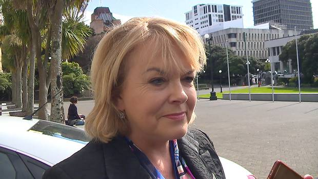 MP Judith Collins refused to say that she supported Simon Bridges as leader of the National Party. Photo / Mark Mitchell