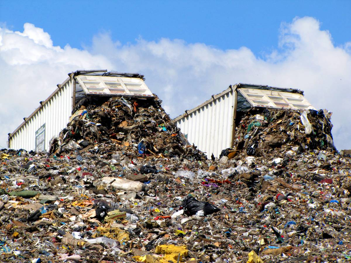 landfills a growing menace