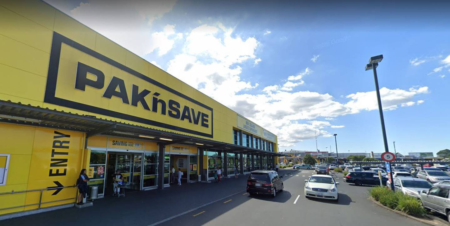 A Covid positive person was at the country's largest Pak'nSave, on Lincoln Rd in West Auckland, for almost two hours on Sunday. Image / Google