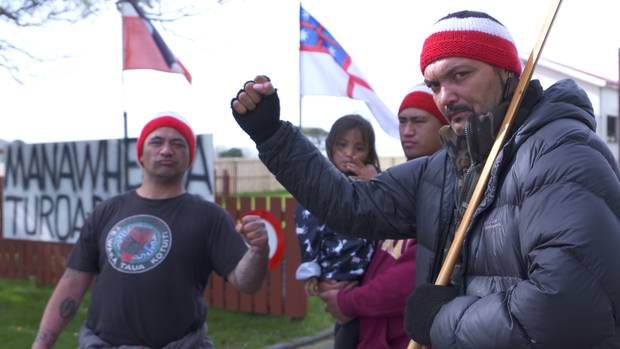 A group representing two original Māori families who lived in the Northcote area has been occupying Hato Petera College for the past few weeks. Photo / File