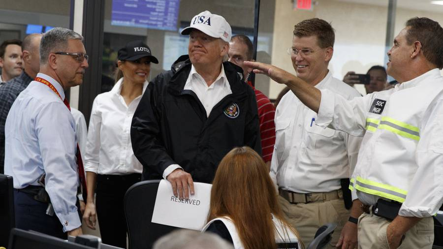 Trump to propose initial $5.9B in Harvey aid