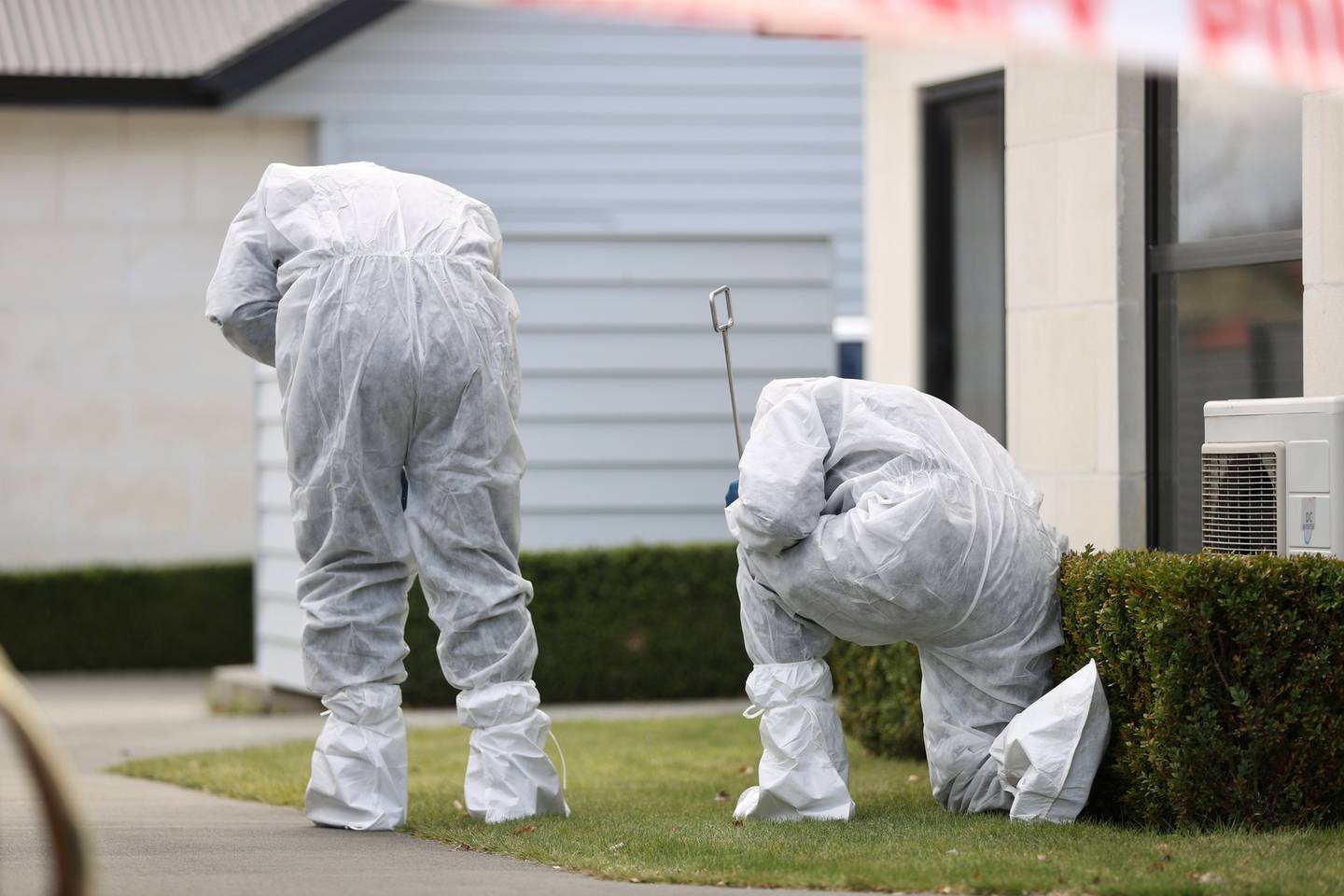 The police forensic team have arrived at the property and a scene examination will get underway soon. Photo / George Heard
