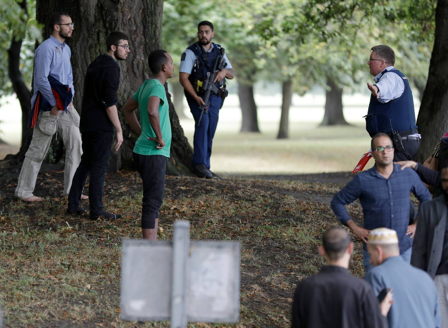 The guidance was developed after Christchurch schools and early education centres went into lockdown following the mosque attacks last year. Photo / AP.