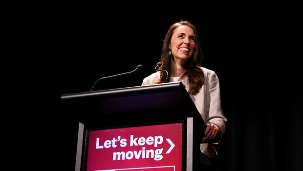 The SFO has launched an investigation over donations made to the Labour Party in 2017. PM Jacinda Ardern is pictured making at the Labour Party Congress 2020 earlier this month. Photo / Getty Images