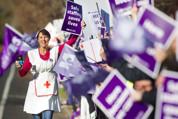 Few bemoan the need to pay teachers and nurses more but that money needs to come from somewhere, writes Cameron Bagrie. Photo / NZME