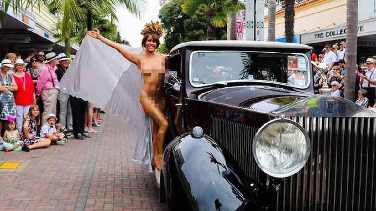 'I'm the Banksy of Napier': Body painter brushes off risqué costume criticism
