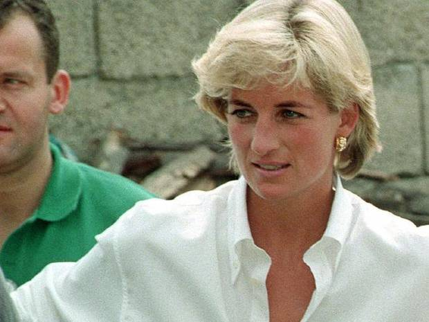 Princess Diana in Bosnia working to eradicate landmines. Photo / News Corp