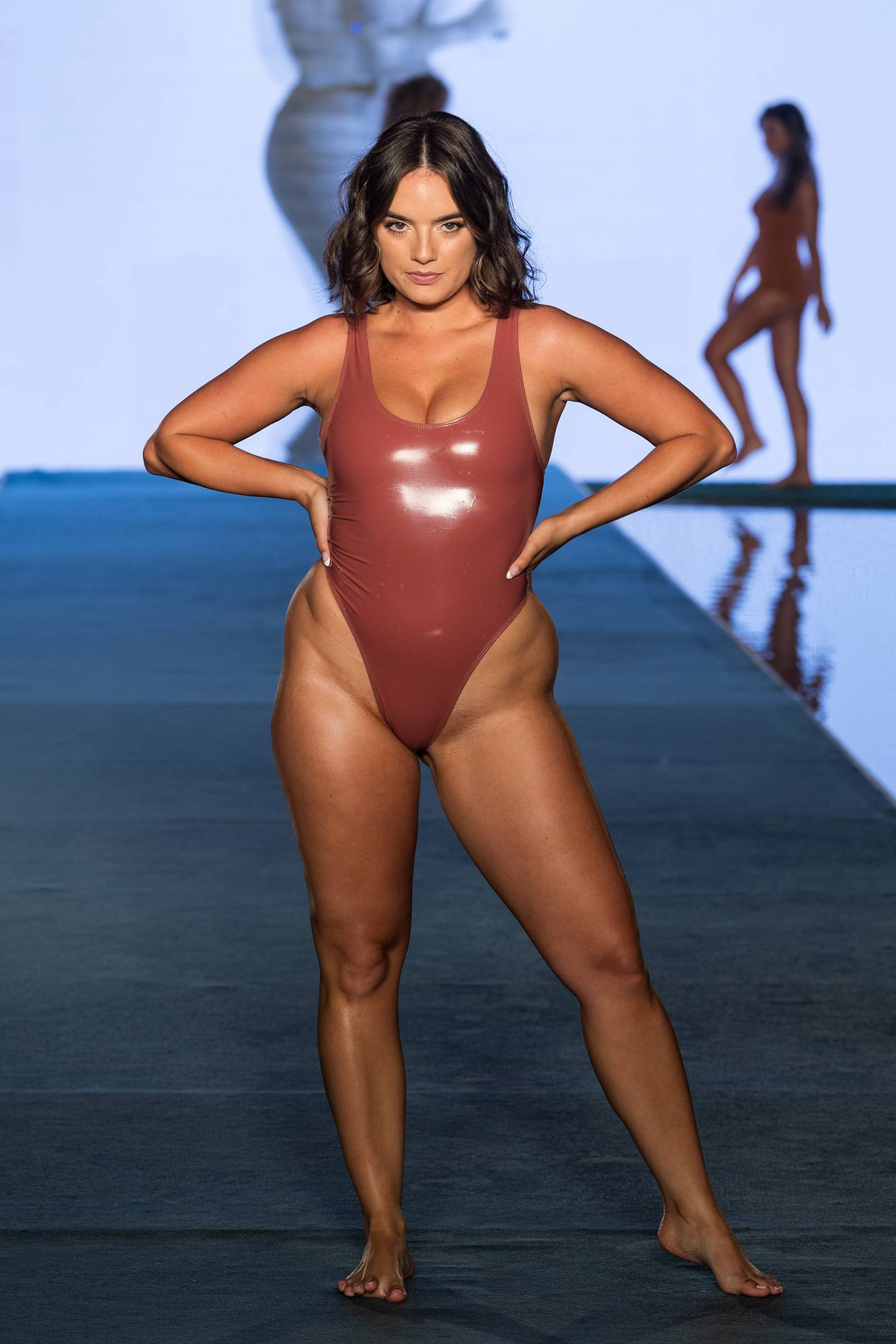 Fans loved seeing real curves at the event. Photo / Getty Images