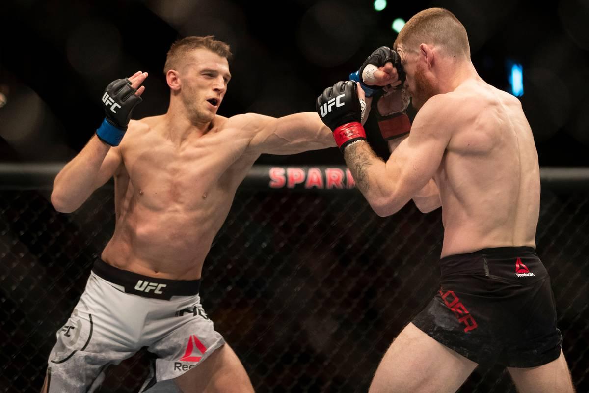 UFC Auckland: Dan Hooker beats Paul Felder in violent UFC Auckland main event