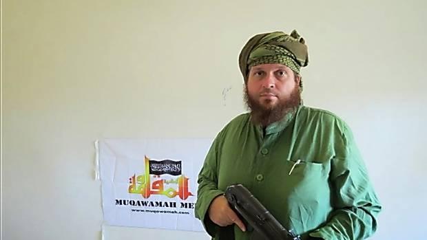 Mark Taylor aka Mohammad Daniel the Kiwi jihadist. Photo / Supplied
