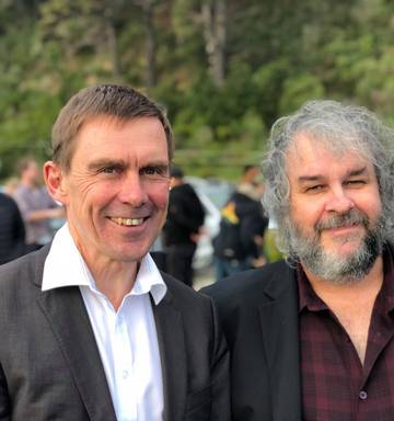 Weta Digital asked staff to support Peter Jackson's mayoral