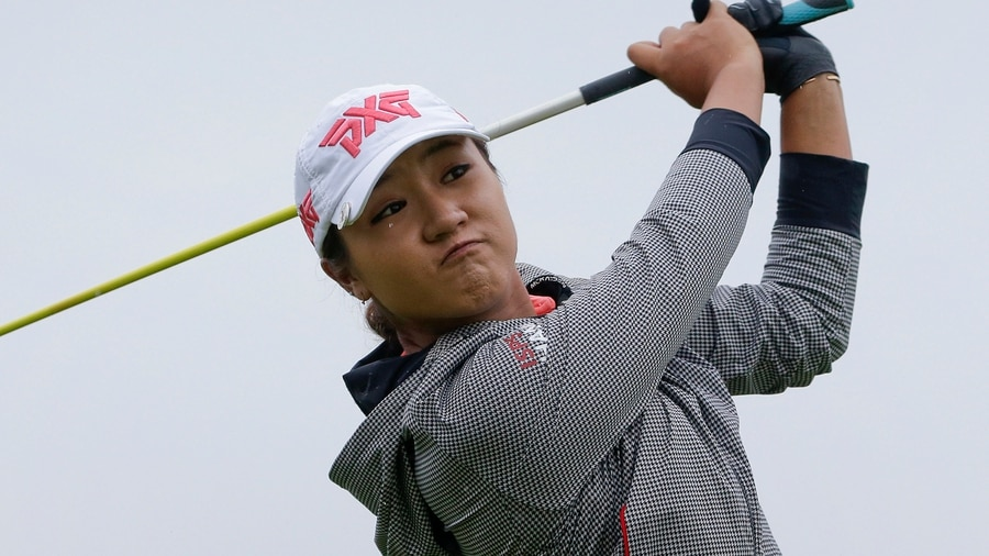 LPGA: Shanshan Feng holds early lead at US Women's Open