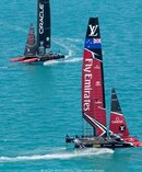 Emirates Airline is getting global exposure through its naming rights sponsorship of Team NZ.