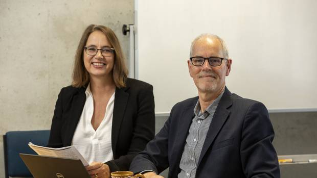 University of Auckland's Associate Professor Dr Natalie Walker and Professor Chris Bullen studied 1124 participants, 40 per cent of whom were Maori women. Photo / Supplied