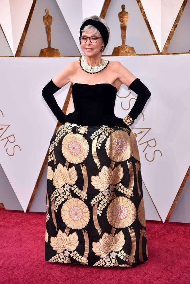 Rita Moreno at the 90th Academy Awards. Photo / Getty Images