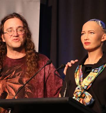 World S Most Human Robot Hints At Future On Northland Visit Nz Herald
