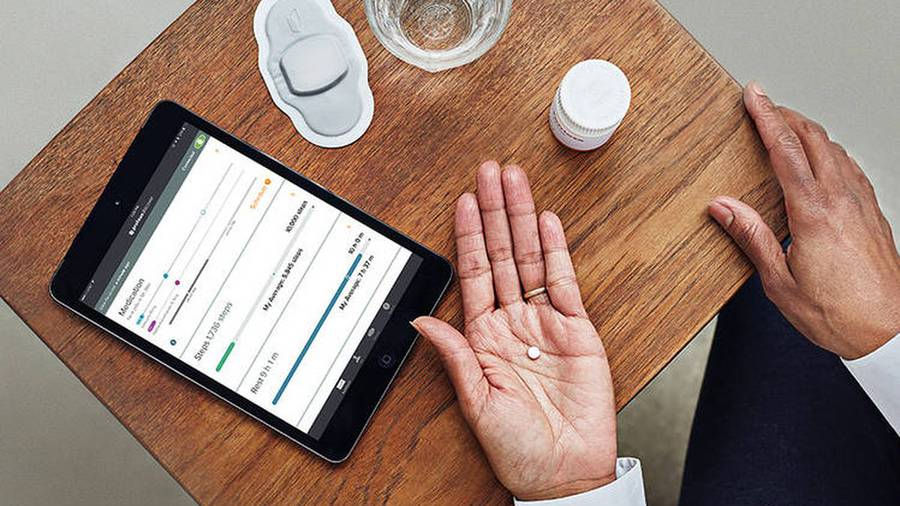 New 'digital' pill keeps patients on track