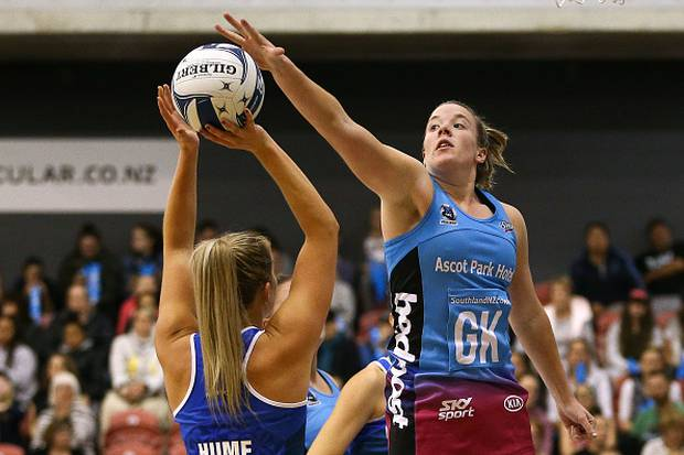 The Southern Steel beat the Mystics 55-47 in the opening game of the ANZ Premiership. Photo / Getty