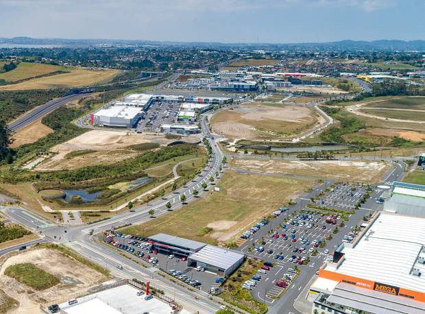 Westgate, where the Costco store will be built. Photo/supplied