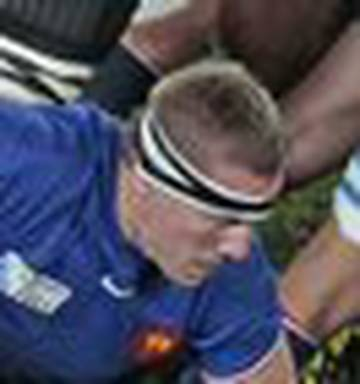 Rugby World Cup: The broad shoulder's driving the French on