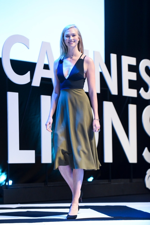 Karlie Kloss attends the Cannes Lions Festival 2017. Photo / Getty