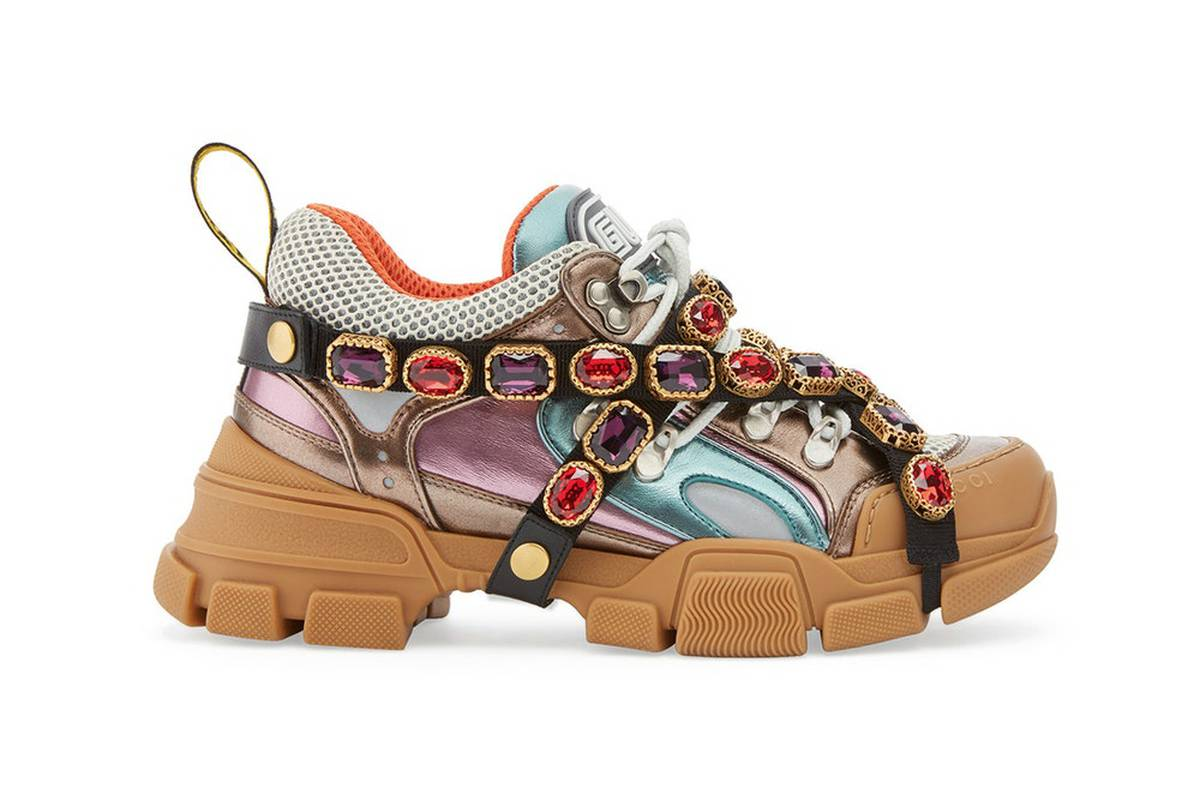 d7332215a15 Gucci s bejewelled sneakers remind fans of Avenger s  infinity stones