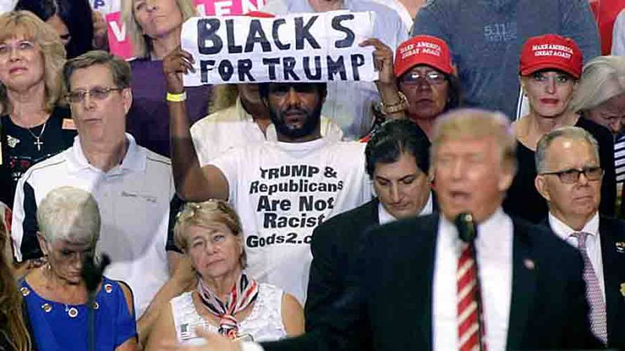 'Blacks For Trump' Leader Is A Former Cult Member