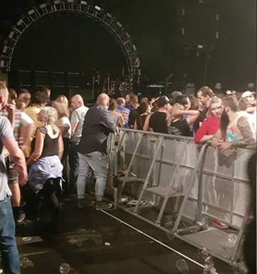 c66c20cf3c ... Numerous Red Hot Chili Peppers VIP ticket holders have been left  furious and disappointed after they