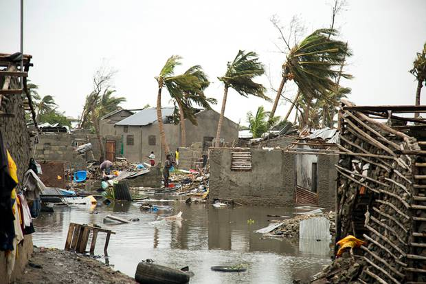Damage is seen after Tropical Cyclone Idai, in Beira, Mozambique. Photo / AP