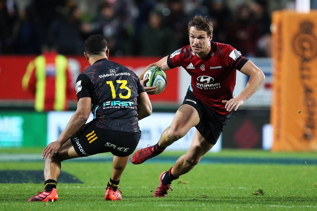 Super Rugby Aotearoa: Crusaders close in on title after controversy-tinged win over Chiefs