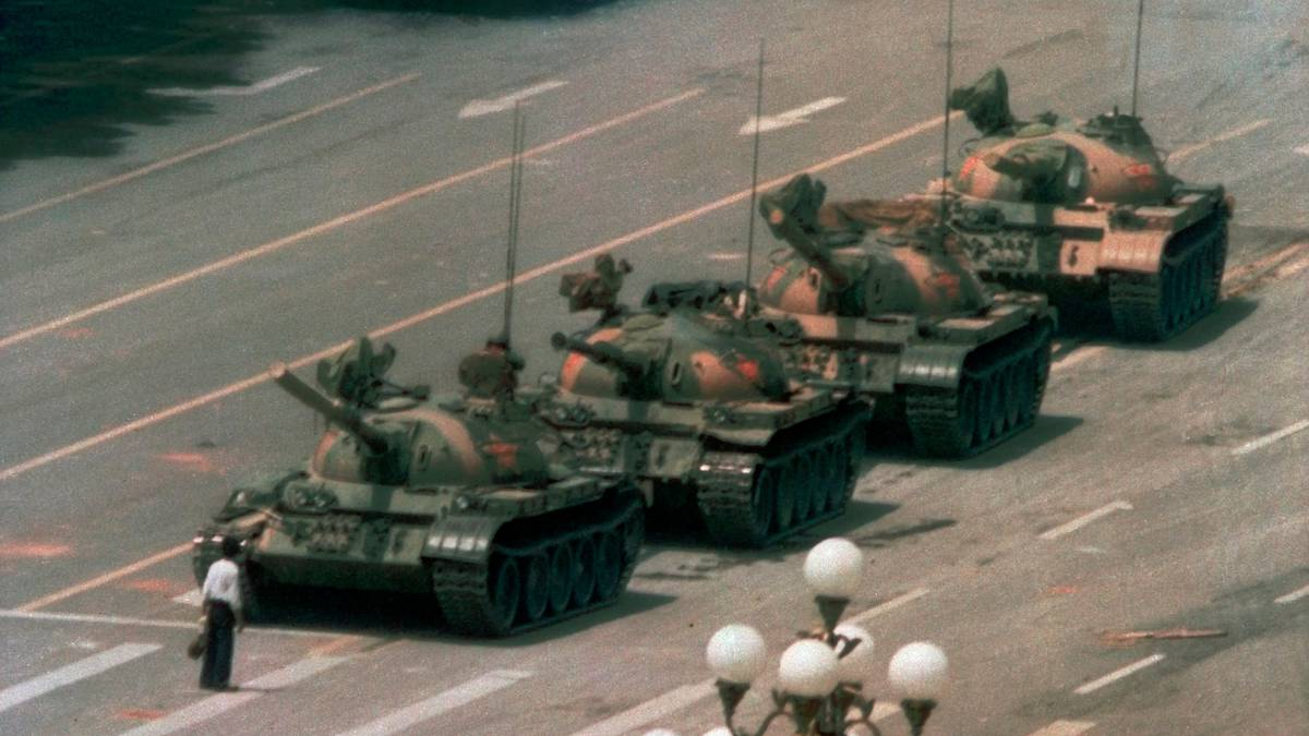 China finally says unspeakable words as iconic photo of Tiananmen Square massacre draws 'blank stares' 30 years later - NZ Herald