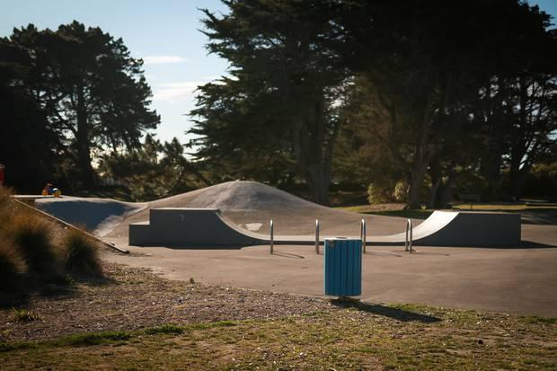 The assault took place near the Thomson Park skatepark. Photo / Logan Church