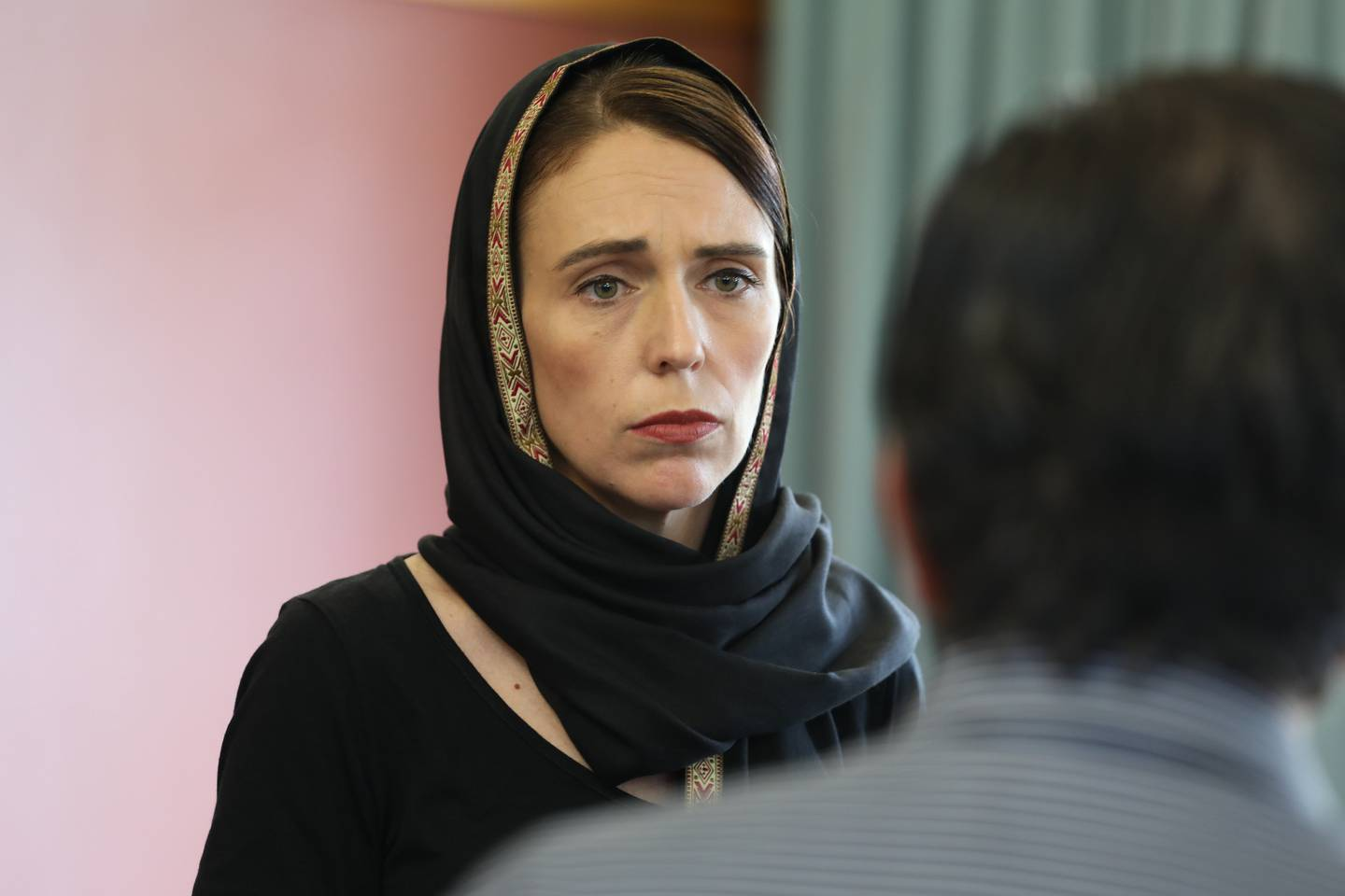 New Zealand Prime Minister Jacinda Ardern pictured a day after the devastating Christchurch mosque shootings in March, 2019. Photo / Supplied